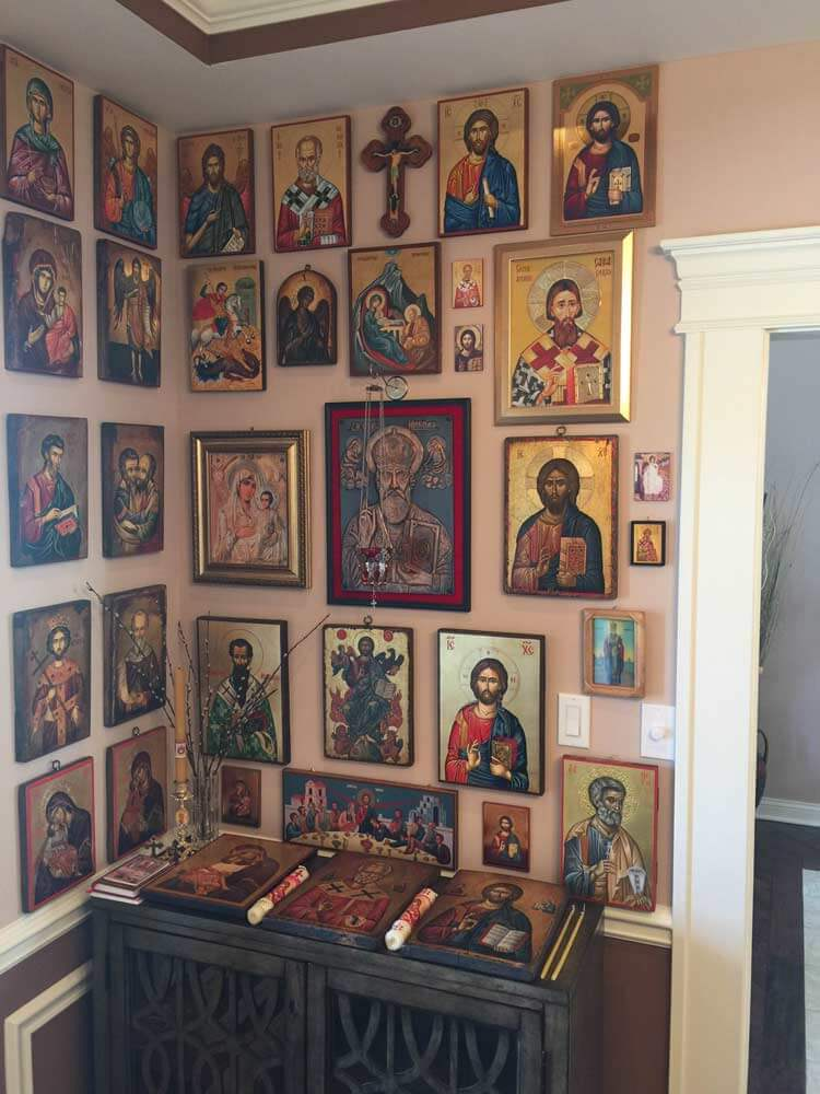 Hand-Painted Byzantine Icons BlessedMart Customer Comment USA Serbia