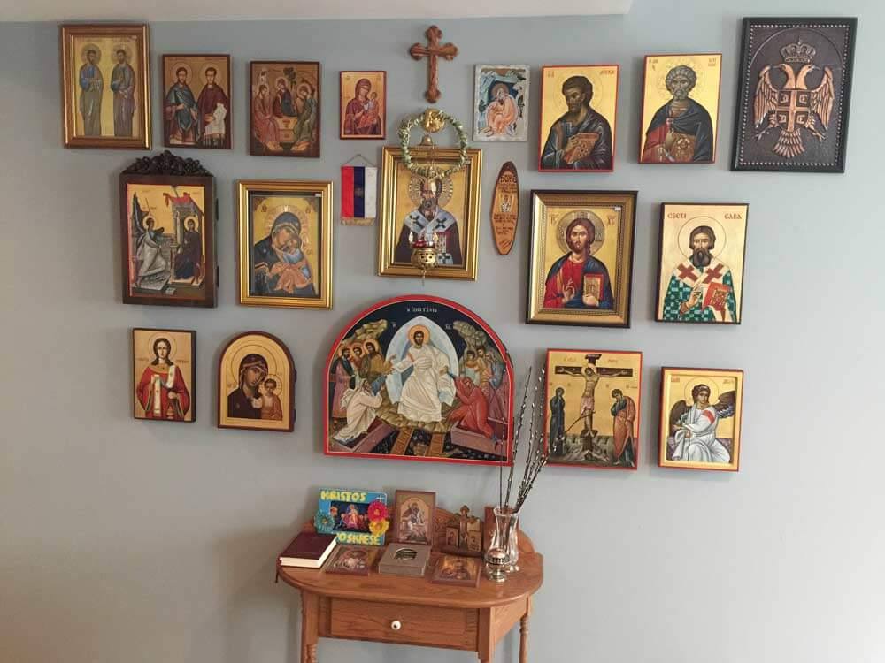 Hand-Painted Byzantine Icons BlessedMart Customer Review USA Serbia