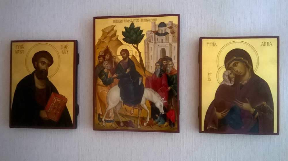 Hand-Painted Byzantine Icons BlessedMart Customer Testimonial Finland