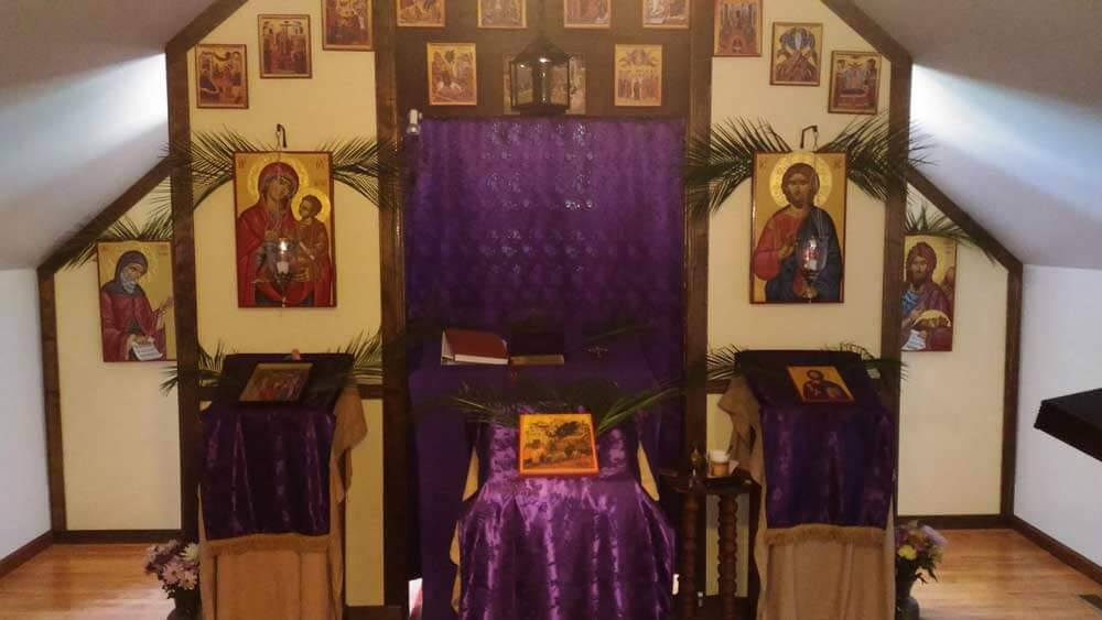 St John Cassian Chapel Hand-Painted Icons by BlessedMart Palm Sunday-L