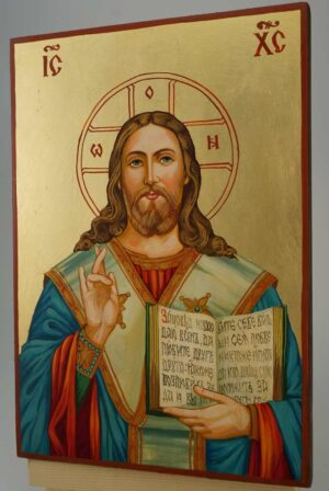 Christ Almighty Icon Hand Painted Byzantine Orthodox