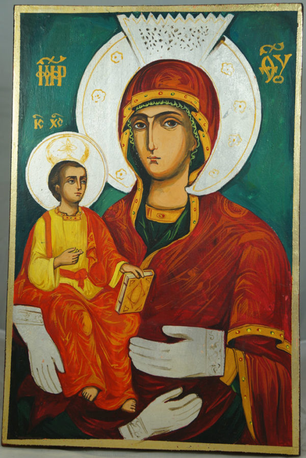 Virgin with Three Hands