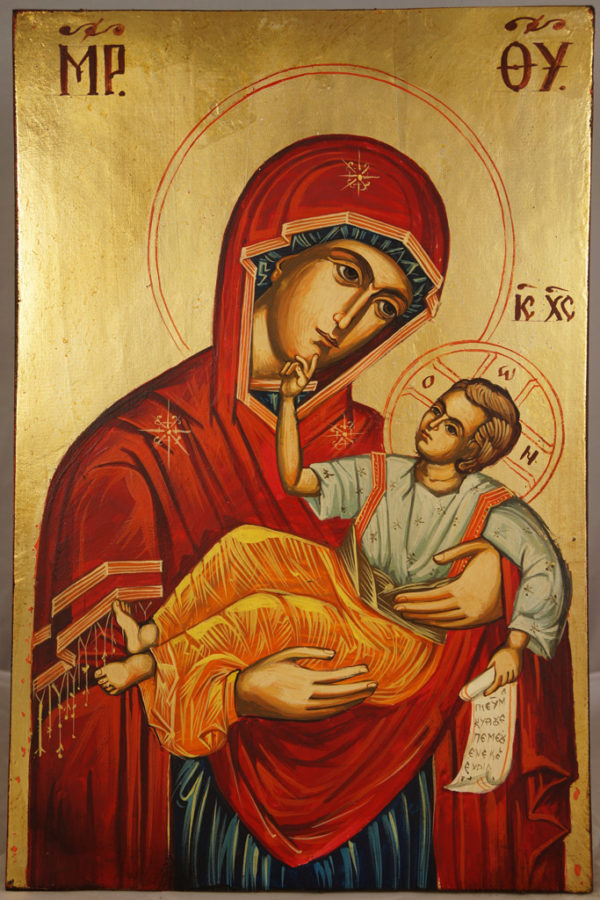 Theotokos Great Grace Hand-Painted Icon