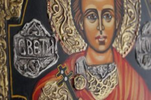 St George the Victorious Handpainted Icon