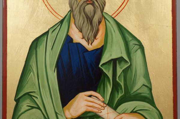 Saint Andrew the Apostle Hand-Painted Orthodox Icon