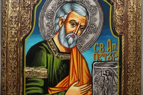 Saint Peter the Apostle Hand-Painted Orthodox Icon