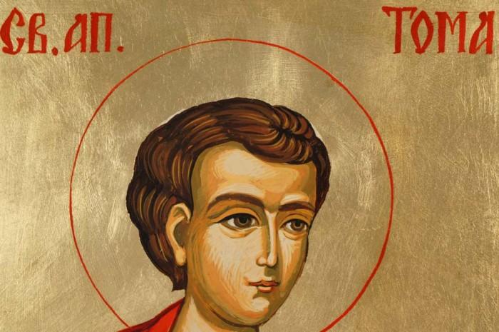 St Thomas Hand-Painted Orthodox Icon