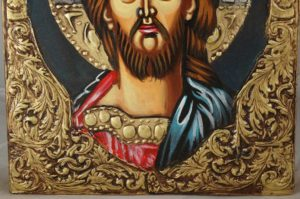 Jesus of Nazareth Hand-Painted Orthodox Icon