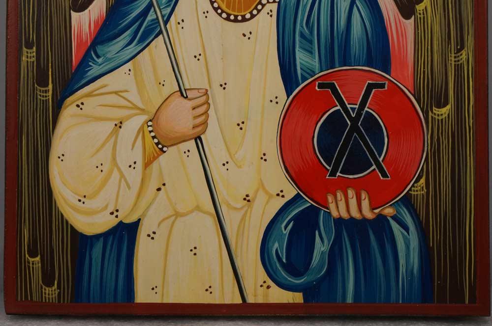 St Archangel Gabriel Hand-Painted Orthodox Byzantine Icon