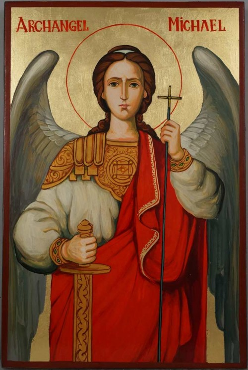 Saint Archangel Michael Hand-Painted Orthodox Icon