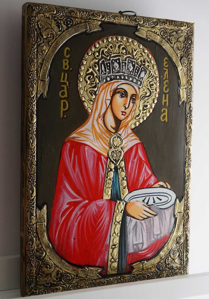 Saint Helena Helen Hand-Painted Orthodox Icon