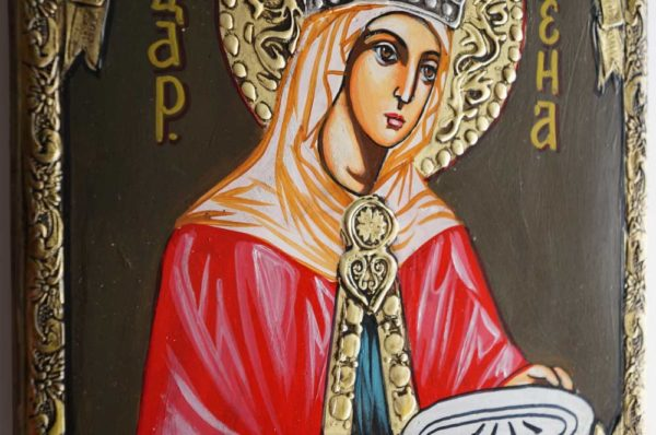 Saint Helena Helen Hand-Painted Orthodox Icon