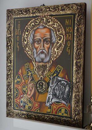 Nicholas the Wonderworker of Myra Hand-Painted Icon