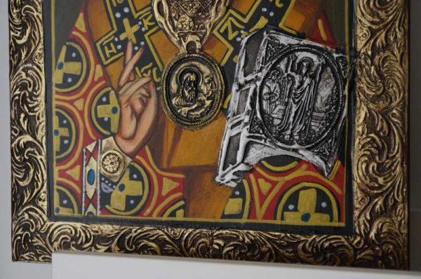 Nicholas the Wonderworker of Myra Hand-Painted Icon