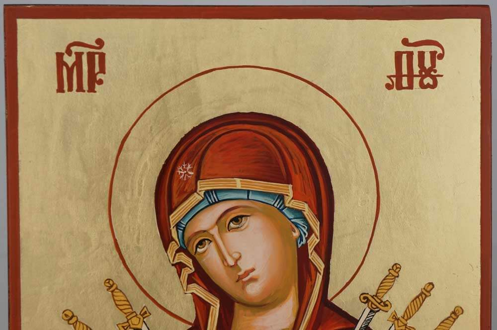 Softener of Evil Hearts Hand Painted Orthodox Icon