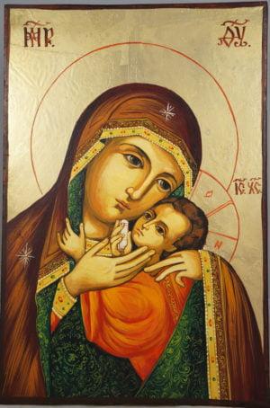 Virgin Mary Tenderness