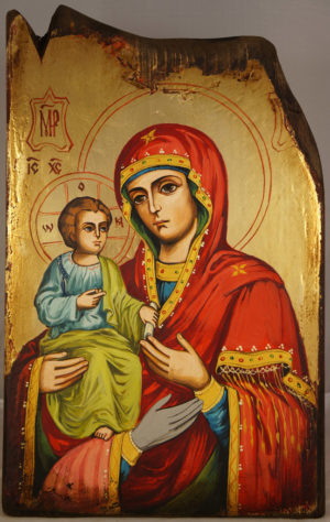 Virgin Mary Trojerucica