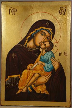 Virgin and Jesus