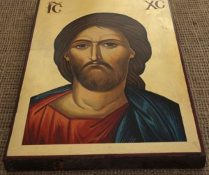 Jesus Christ Pantocrator Hand-Painted Byzantine Icon