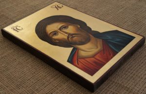 Christ the Saviour Hand-Painted Byzantine Icon