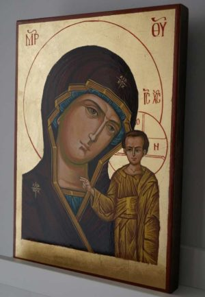 Kazan Mother of God Hand Painted Russian Orthodox Icon
