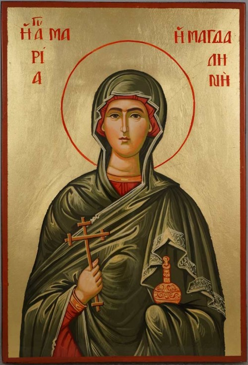 Mary Magdalene Hand Painted Orthodox Icon