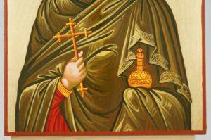 Mary Magdalene Icon Hand Painted Byzantine Orthodox
