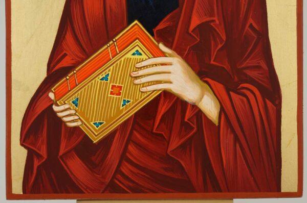 Saint Paul the Apostle Icon Hand Painted Byzantine Orthodox