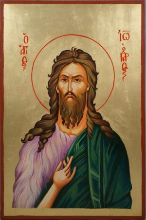 Saint John the Baptist Hand-Painted Icon