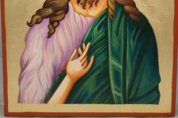 Saint John the Baptist Hand-Painted Icon