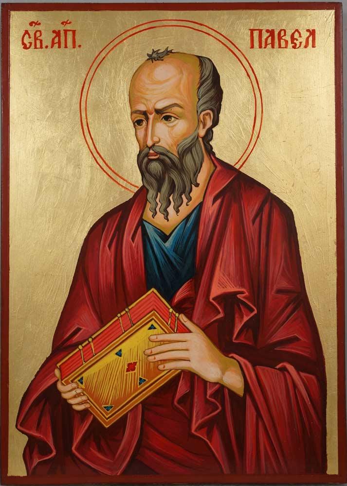 Wood Hand Painted Orthodox Icons