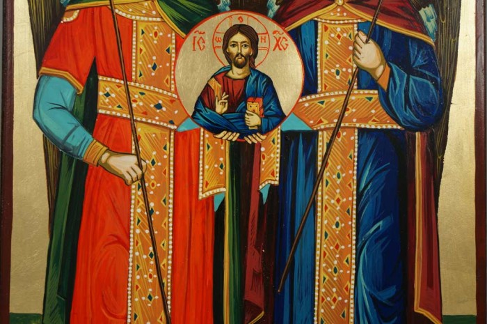 Synaxis of the Angels Hand-Painted Orthodox Icon