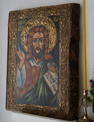 Saint John the Forerunner Hand-Painted Orthodox Icon