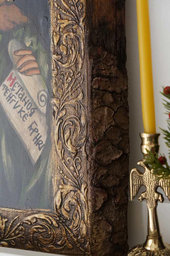Saint John the Forerunner Hand-Painted Orthodox Icon