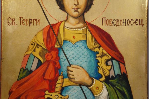 Holy Great Martyr George Hand-Painted Icon