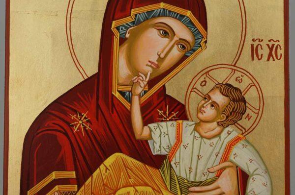 Panagia Great Grace Icon Large Hand Painted Byzantine Orthodox