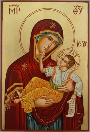 Panagia Great Grace Icon Large Hand Painted Byzantine Orthodox