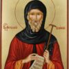 St Anthony the Great Large Icon Hand Painted Byzantine Orthodox