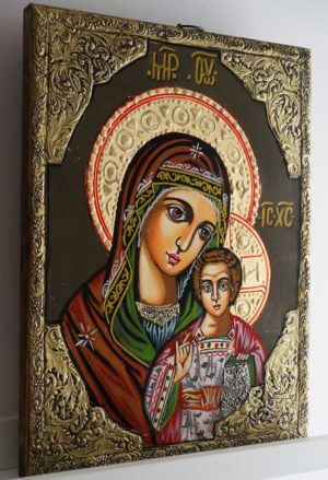 Our Lady of Kazan Hand-Painted Orthodox Icon