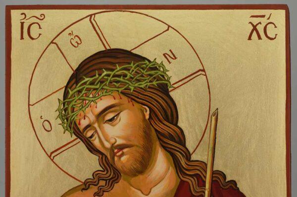 Christ the Bridegroom Icon Hand Painted Byzantine Orthodox