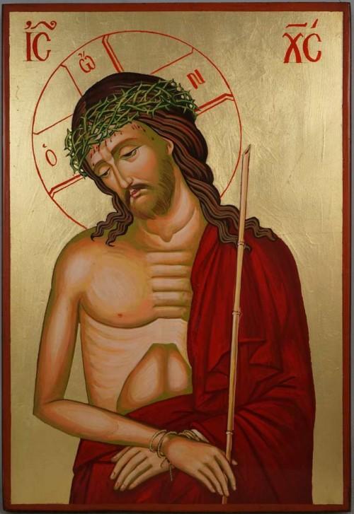 Christ the Bridegroom Large Hand Painted Byzantine Orthodox Icon