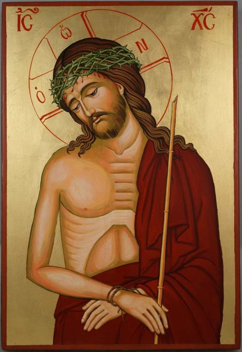 Christ the Bridegroom Large Hand Painted Orthodox Icon on Wood