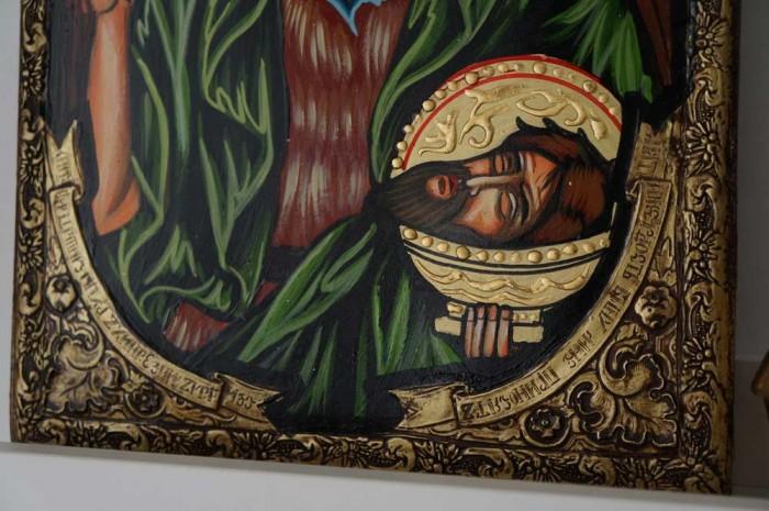 St John the Baptist Hand-Painted Byzantine Icon