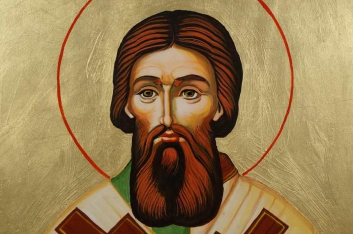Saint Sava Savva of Serbia Hand-Painted Orthodox Icon