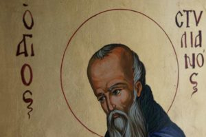 St Stylianos Hand-Painted Byzantine Icon