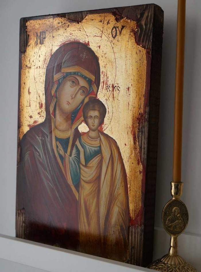 Kazanskaya Mother of God Hand-Painted Orthodox Icon