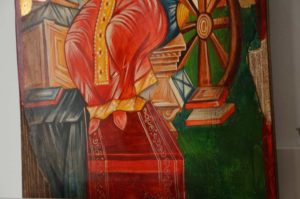 Catherine of the Wheel Hand-Painted Orthodox Icon