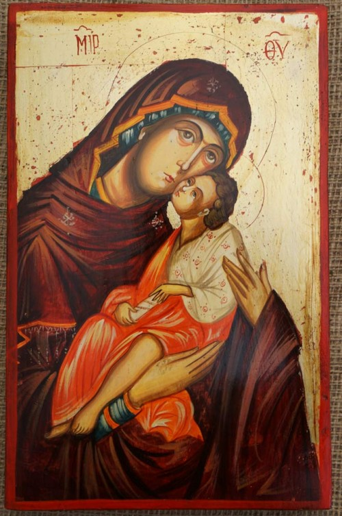 Theotokos Sweet Kissing