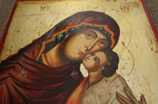 Theotokos Sweet Kissing