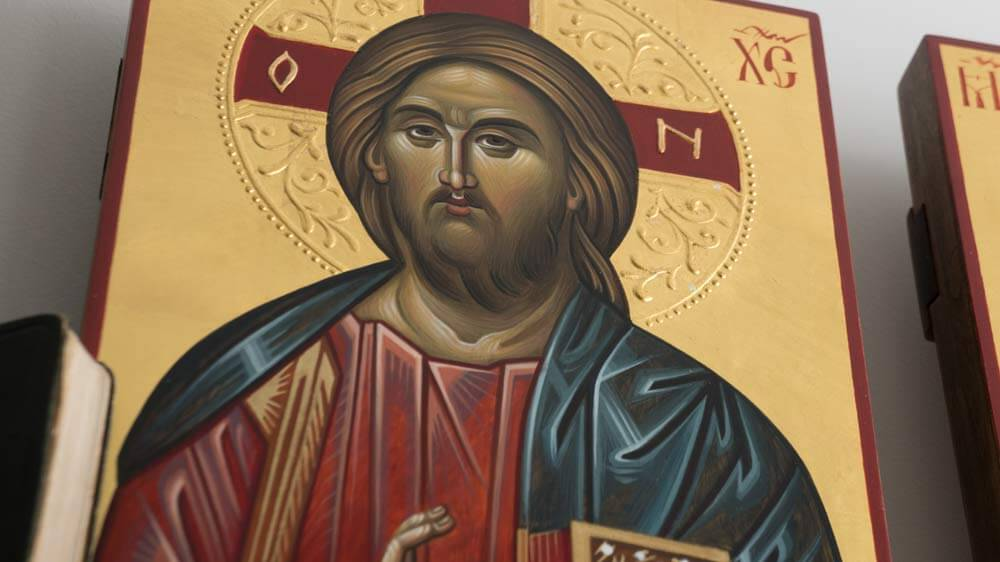 BlessedMart Hand-Painted Byzantine Icons